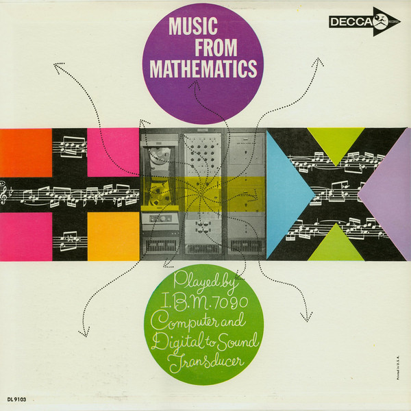 Various – Music From Mathematics : 60s Abstract, Electronic, Experimental Music Album Compilation