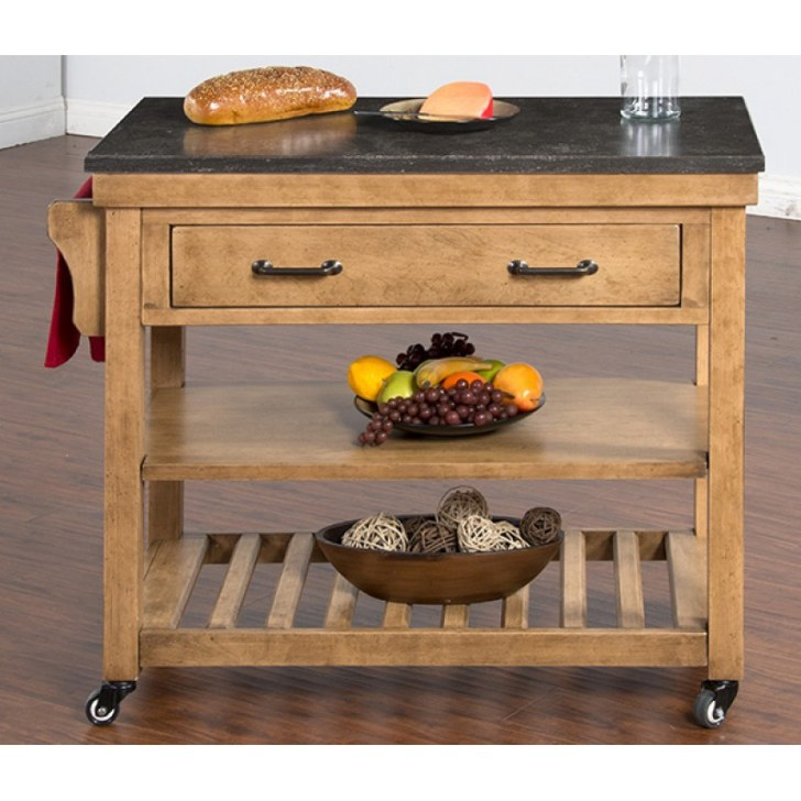 2178ds Blue Moon Kitchen Island Table