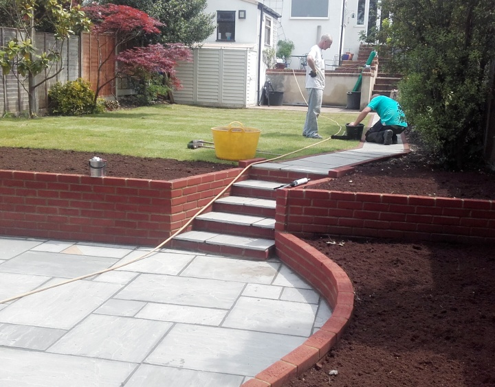 Sunny Gardens   Driveways , Walls and Other Structures