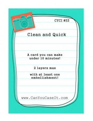 Can You Case It 53 - You Plus Me Valentine Card created by Pam Staples.  #sunnygirlscraps #pamstaples #cyci #stampinup