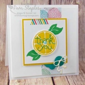 Paper Craft Crew Sketch Challenge Design Team Submission by Pam Staples featuring Apple of My Eye #appleofmyeye #stampinup #pamstaples #papercraftcrew