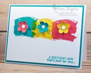 Happy Birthday Wishes by Pam Staples #stampinup #pamstaples #rememberingyourbirthday