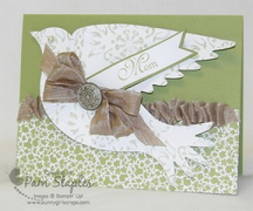Elegant Bird Mother's Day Card