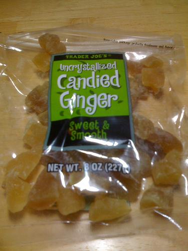 Trader Joe's Uncrystallized Ginger Candy