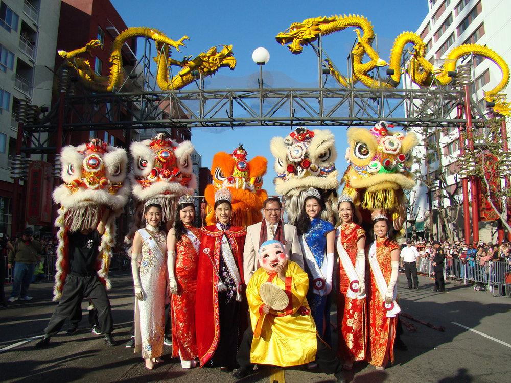 Chinatown Dragon Parade 2020