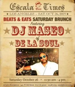 DJ Maseo in Koreatown LA