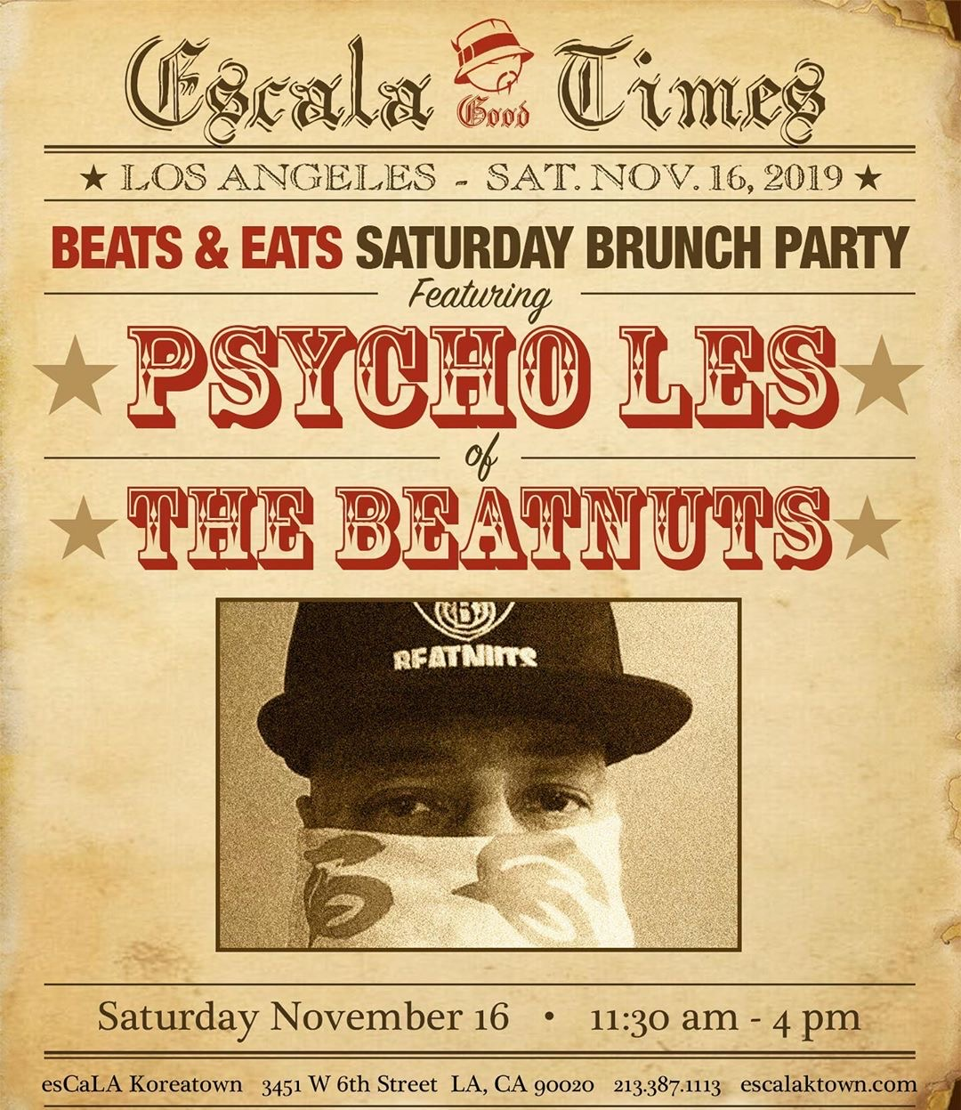 Psycho Les of The Beatnuts