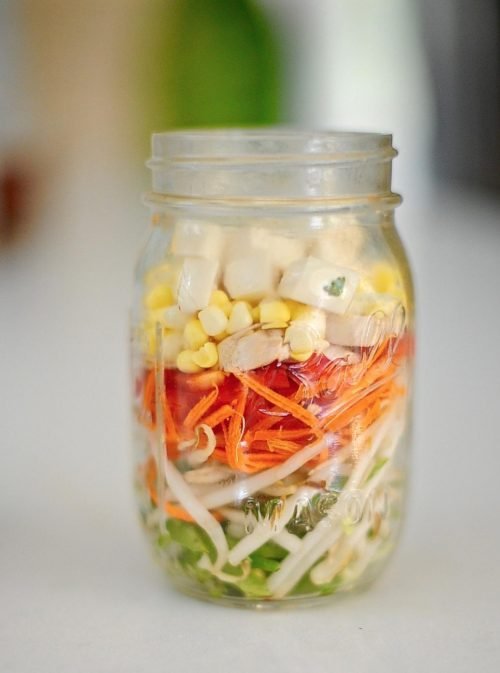 Mason Jar Miso Soup (Vegan)
