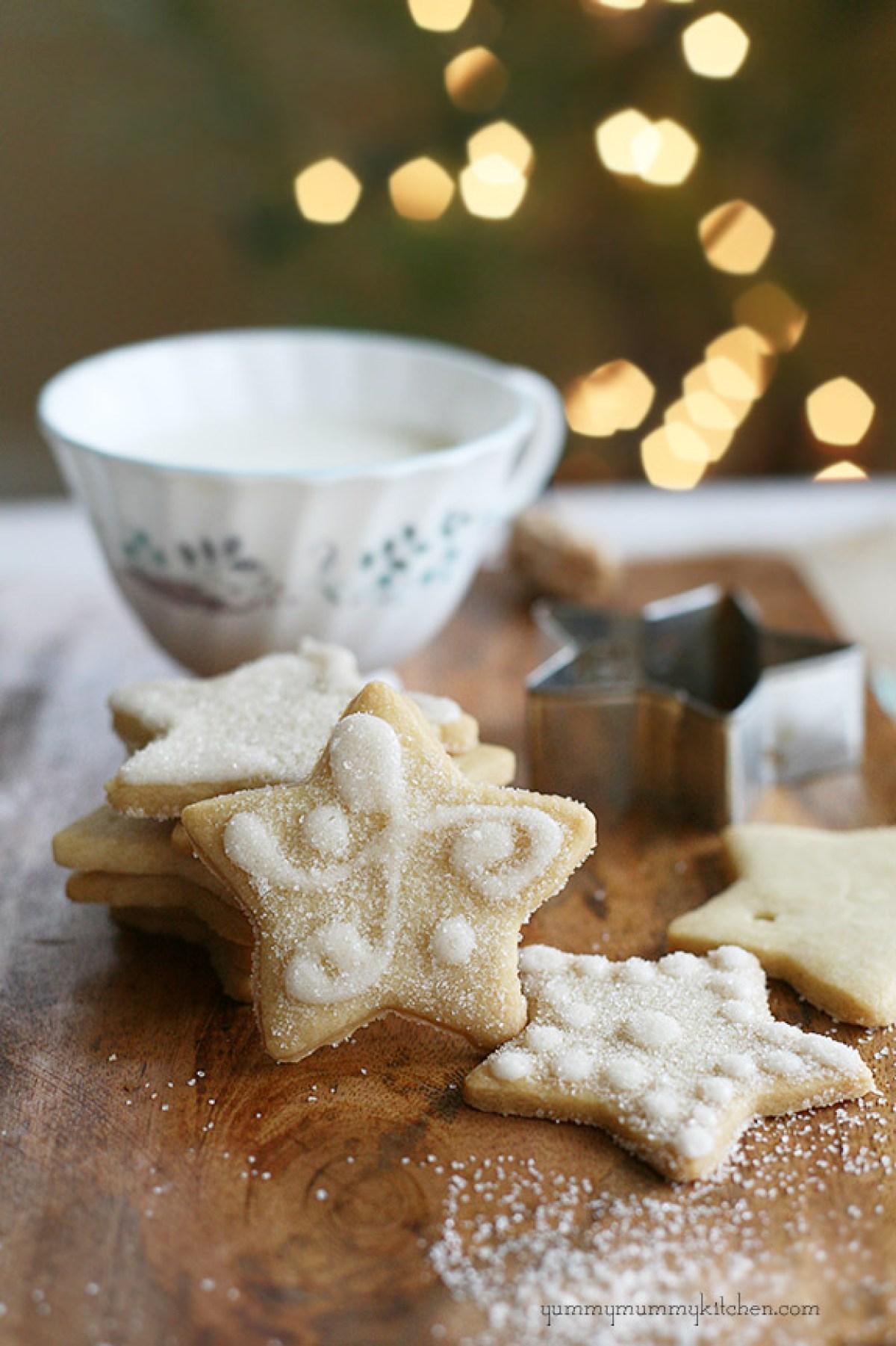 Cookies for A Magical Fairy Tea Party (Vegan)