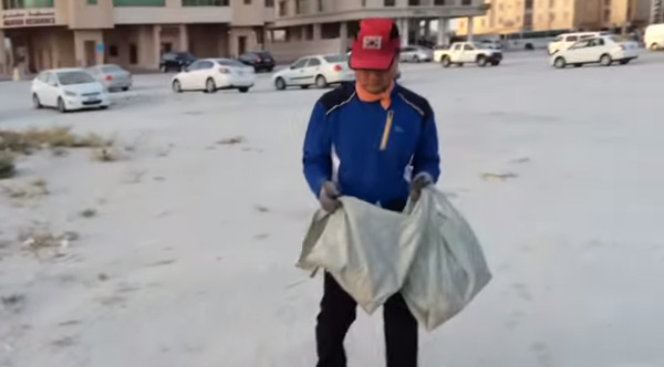 millionaire garbage collector
