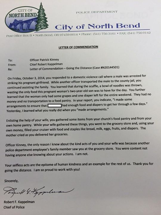 A Police Chief Wrote This Letter To An
