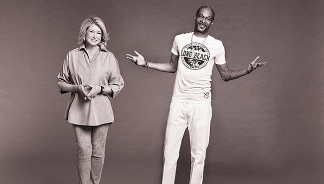 snoop dogg and martha stewart cooking show