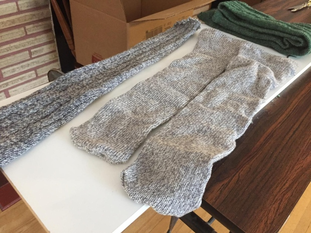 old man makes thousands of socks for needy