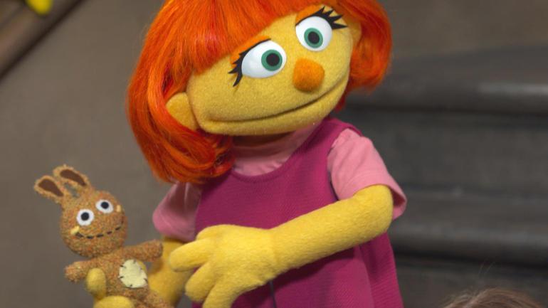 Sesame Street autism character