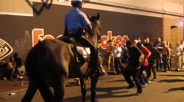 In New Orleans Even The Police Horses Boogie