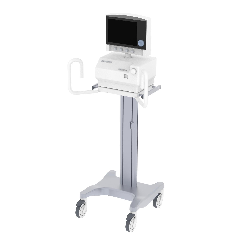 Ventillator Trolley, Cart, Medical Device Trolley