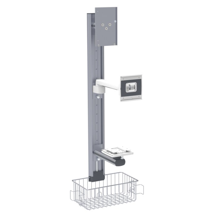 GE Carescape B850 Stand, B850 Wall Mount, B850 Pendant Mounting Solutions
