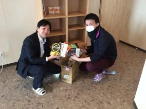 香川の自習室・コワーキングスペースならサンプラット書籍寄贈1-20160106bookkizou1