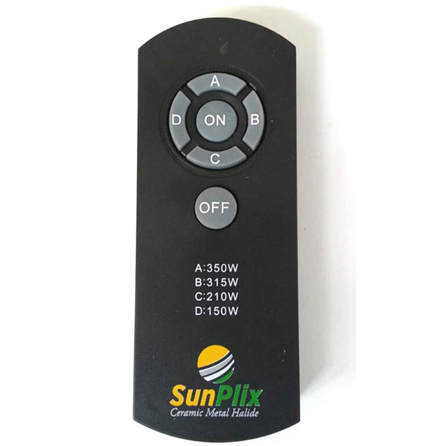CMH-315C remote controlling SunPlix 315W/630W IR dimming ballast