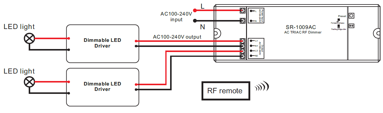 sr 1009ac wiring dimmable led driver?resize=665%2C196 intertek led lighting wiring diagrams light wiring diagram, led  at edmiracle.co