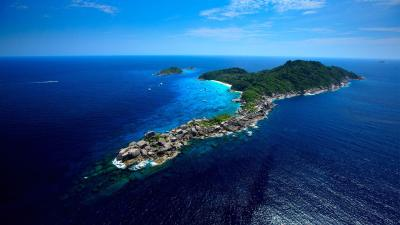 Similan Islands diving day trips from Phuket and Khao Lak