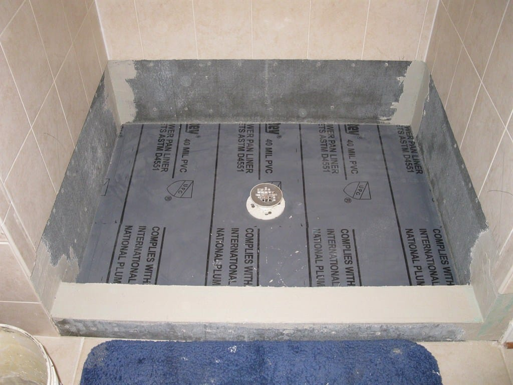 shower pan liner things you need to