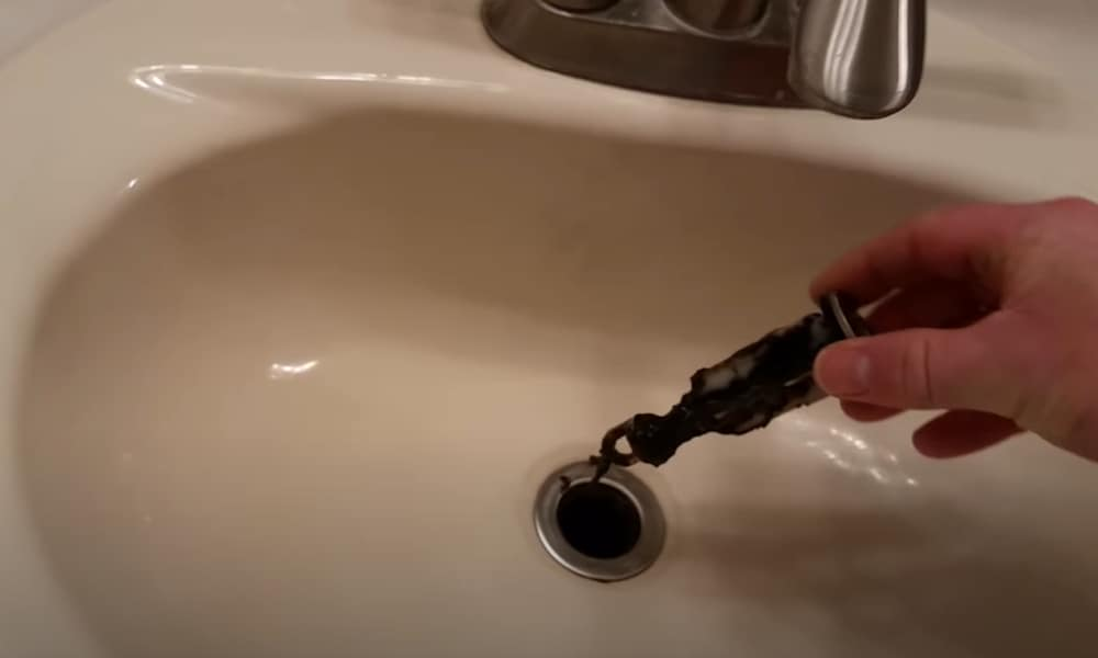 remove a bathroom sink stopper