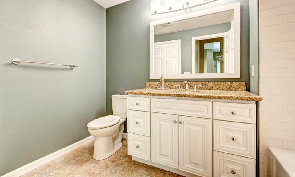 standard bathroom vanity dimensions