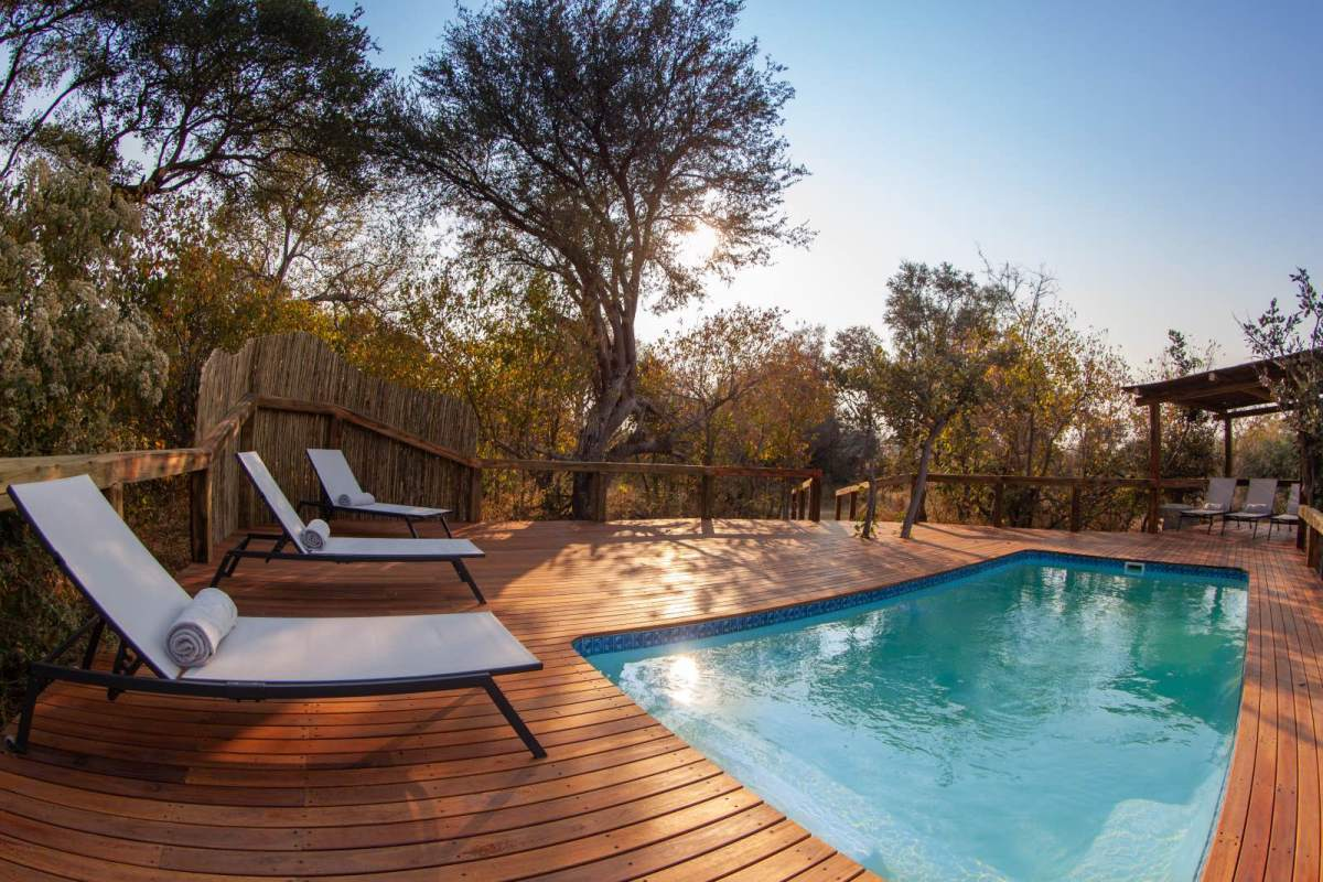 Kwando Splash Camp, Okavango Delta