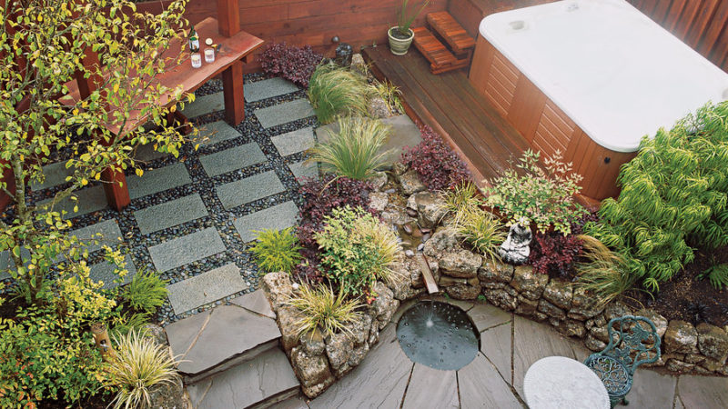 Patio Ideas and Designs   Sunset Magazine Small space patios