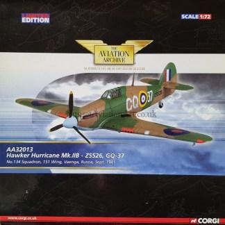 AA32013 Hawker Hurricane Mk.IIB