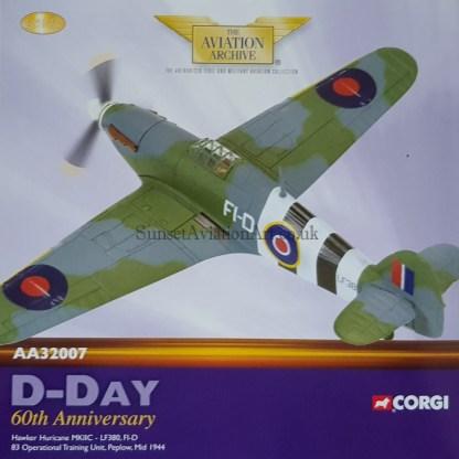 Corgi AA32007 Hawker Hurricane Mk II