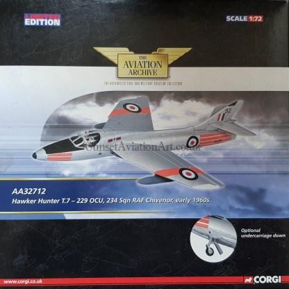 Corgi AA52712 Hawker Hunter