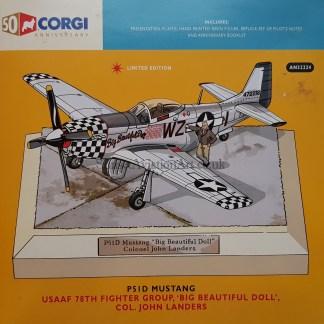 Corgi AN32224 P-51 D Mustang