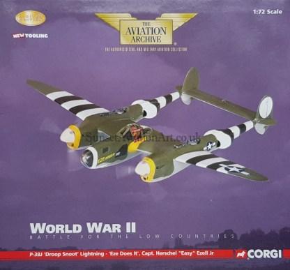 AA36602 Corgi P-38 Lightning