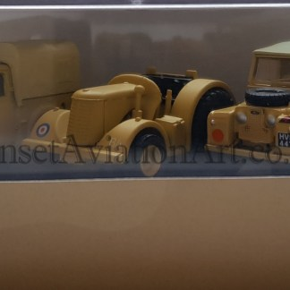 3 Piece Set - Tilly,David Brown Tractor and Land Rover (76SET23 Oxford)