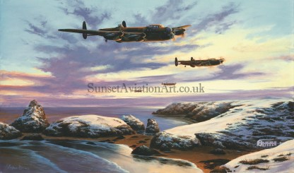 Lancaster's Over Kynance Cove