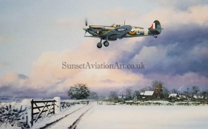 Last Man Home (Stephen Brown Aviation Artist)