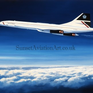 Concorde The Supersonic Thoroughbred greeting cards