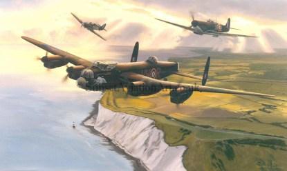 Memorial Flight Birthday card Lest We Forget