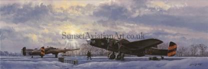 Aviation xmas card Halifax Mutual Support