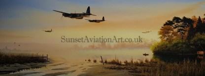 De-Havilland Mosquito Birthday card Quite Moments