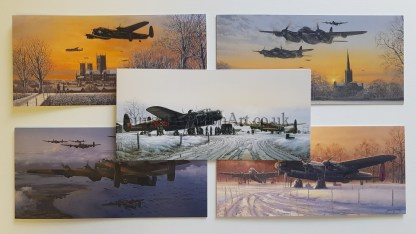 Bomber Command greeting cards
