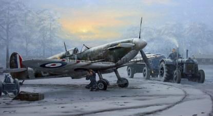 Supermarine Spitfire Call to Duty Christmas card