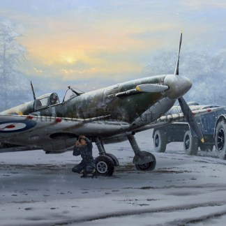 Supermarine Spitfire Call to Duty Christmas card