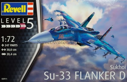 03911 Revell SU-33 Flanker D