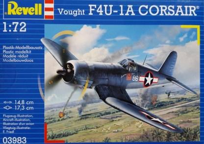 03983 Revell Vought F4U-1A Corsair