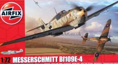 A01008A Airfix Messerschmitt Bf109E-4