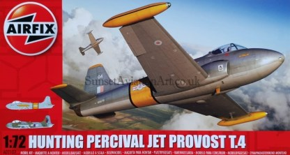 A02107 Airfix Hunting Percival Jet Provost T.4
