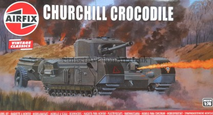 A02321V Airfix churchill crocodile